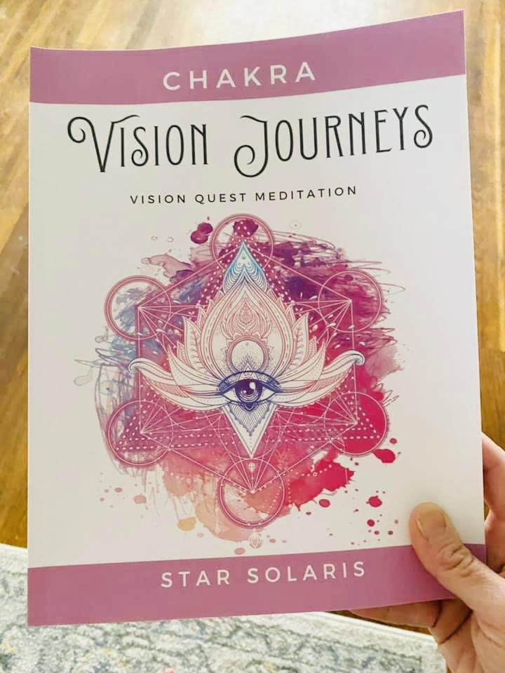 Chakra Vision Journeys Book on Amazon